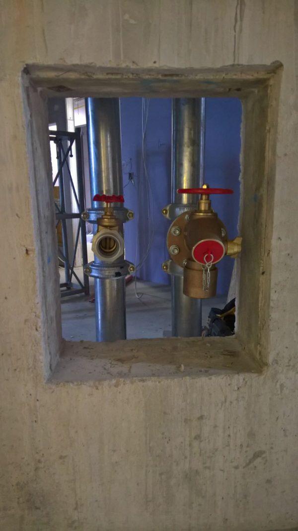 Wet Riser Installation