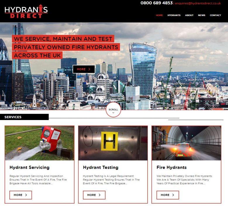 Fire Hydrants Website