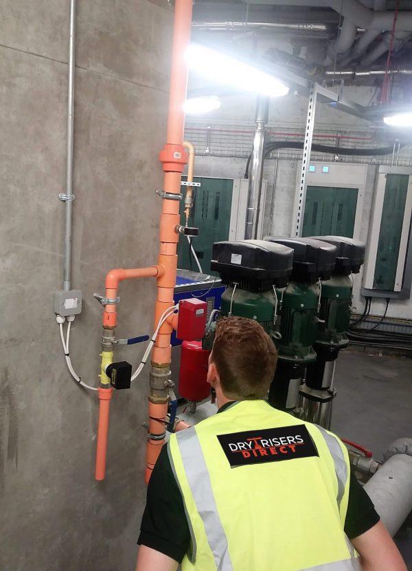 Fire Sprinkler Service & Maintenance : Dry Risers Direct Ltd